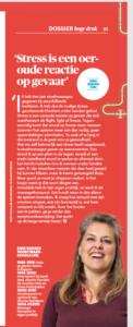 Eske in Leidraad, Magazine voor alumni van Universiteit Leiden, januari 2020