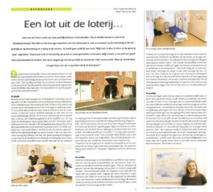Interview Eske in Massage Magazine 2012